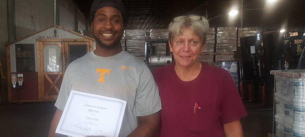 Colby – October Employee of the Month