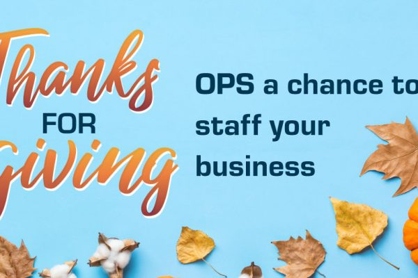 Free Staffing - Thanksgiving Promo