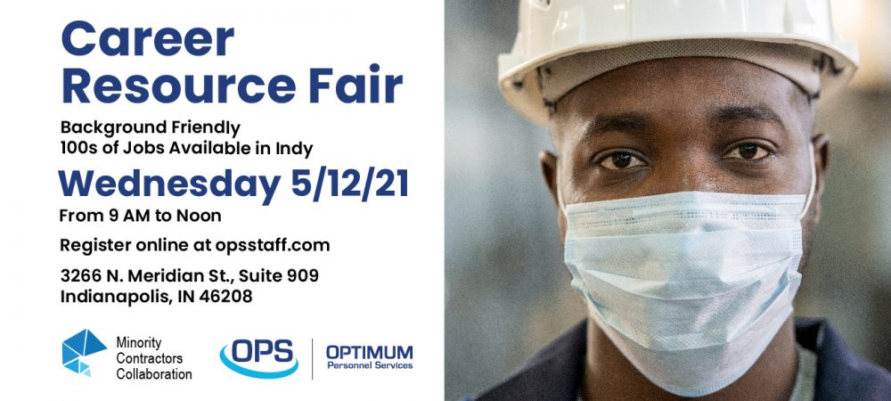 Indianapolis Career Resource Fair – Wednesday 5/12/21